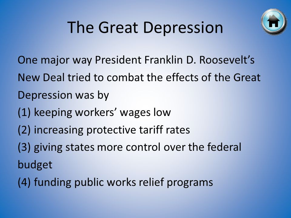 The Great Depression