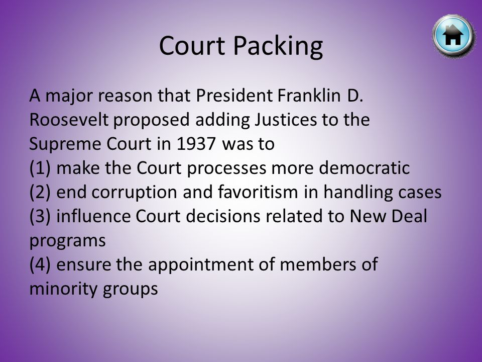 Court Packing