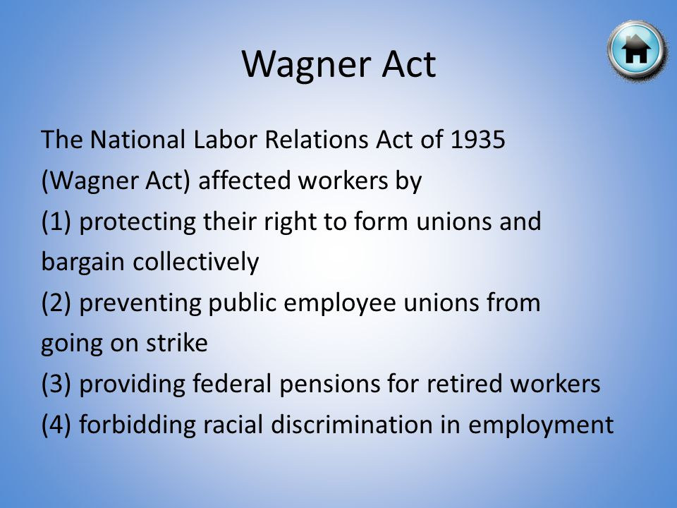 Wagner Act