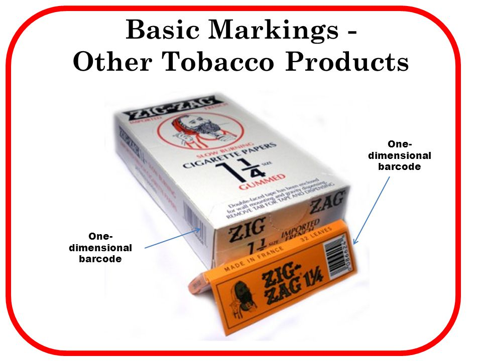 Basic Markings - Other Tobacco Products