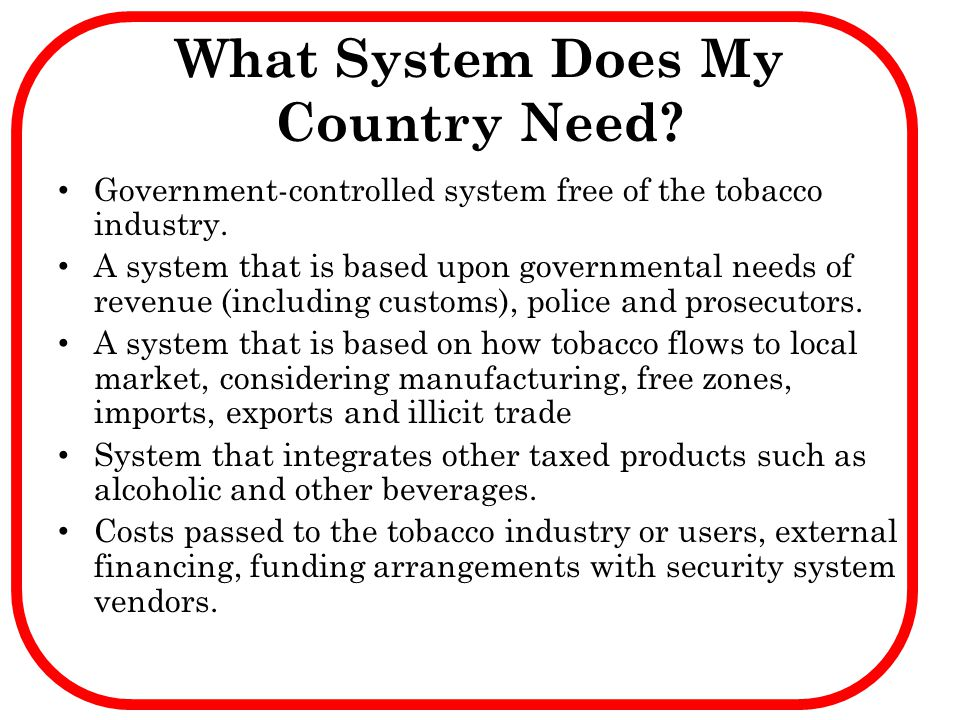 What System Does My Country Need