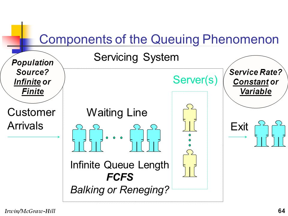 Components of the Queuing Phenomenon