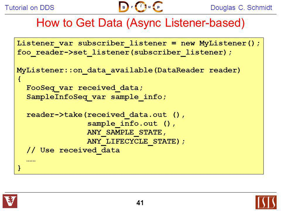 How to Get Data (Async Listener-based)
