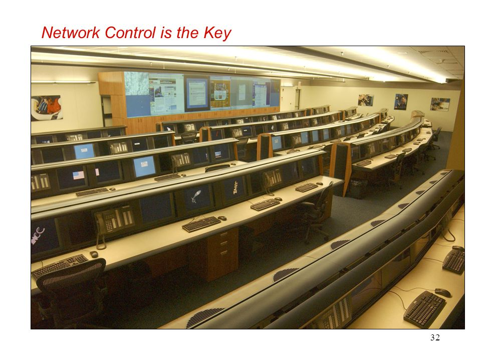 Network Control is the Key