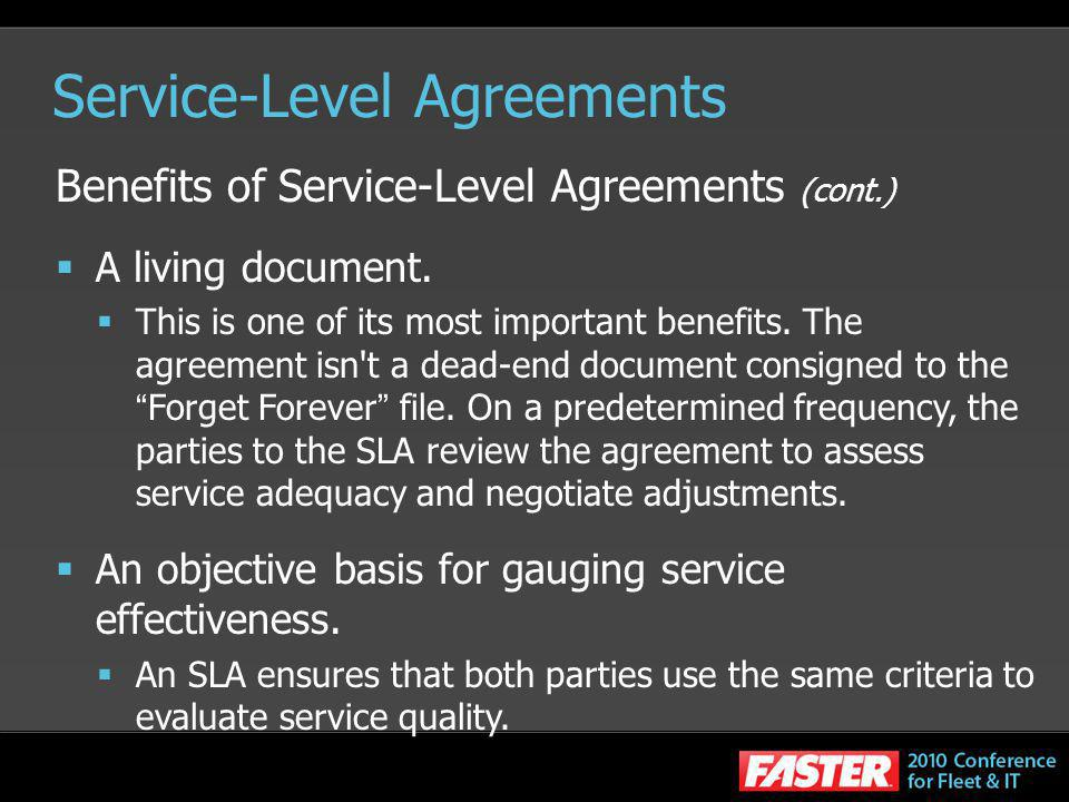 Outsourcing Contract Negotiations Writing An Sla Ppt Video Online