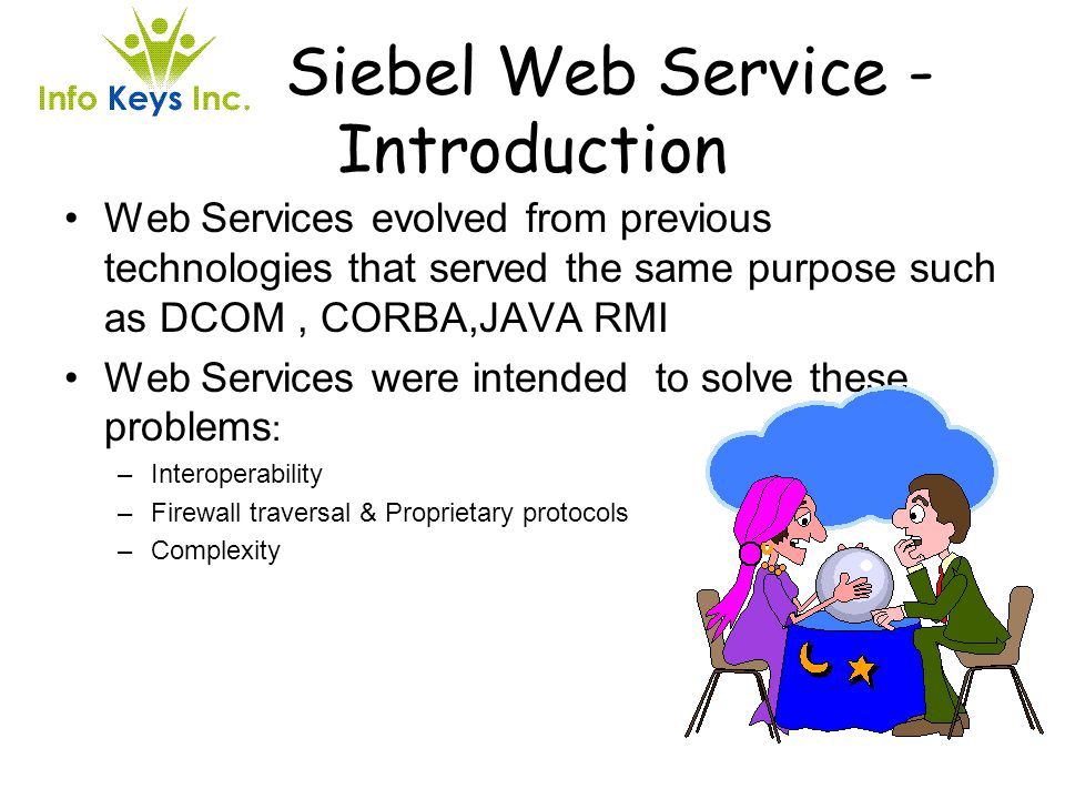 Siebel Web Service - Introduction