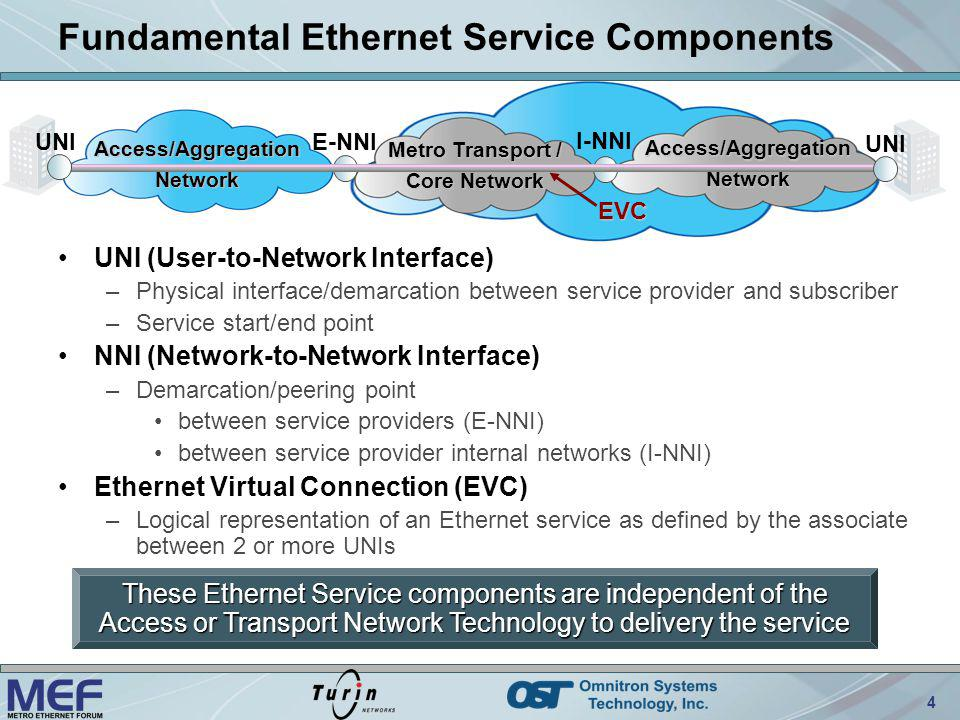Fundamental Ethernet Service Components