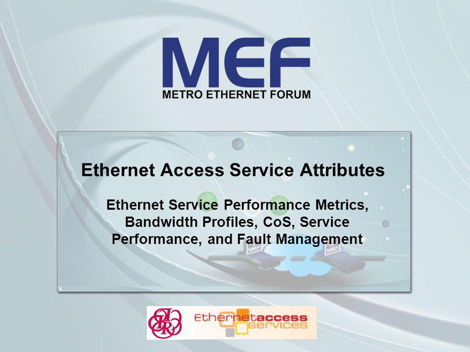 Ethernet Access Service Attributes