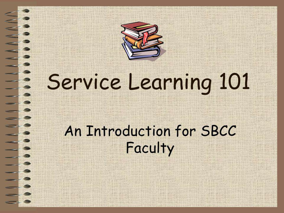 An Introduction for SBCC Faculty