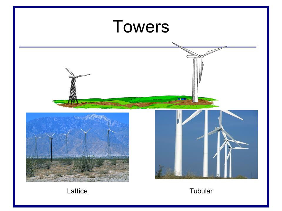 Towers Lattice Tubular