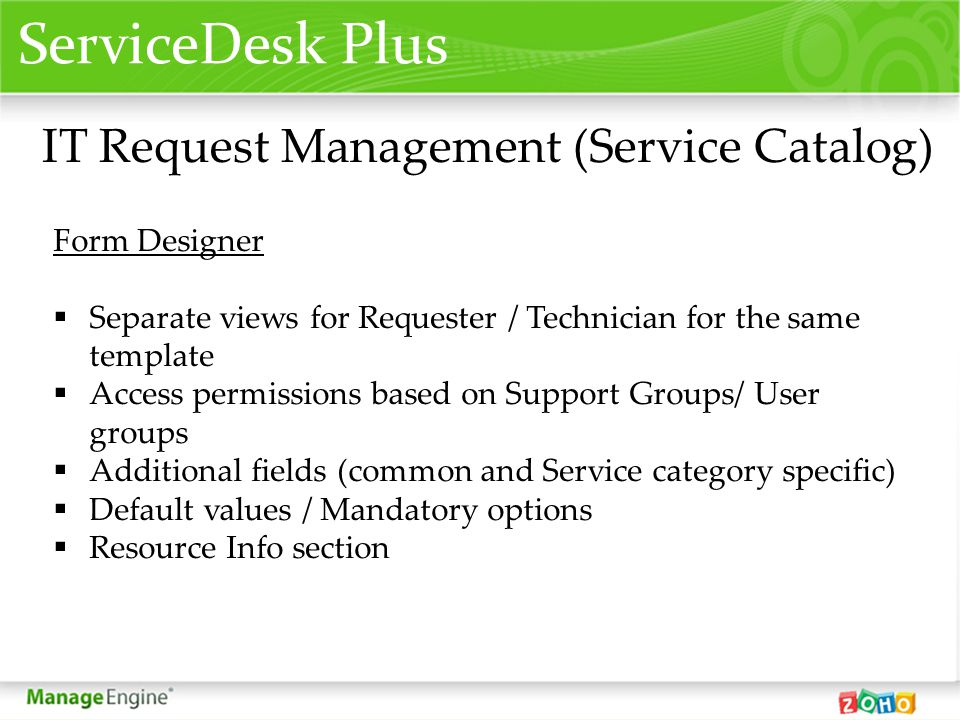 The importance of the service catalogue to the service desk - ppt ...