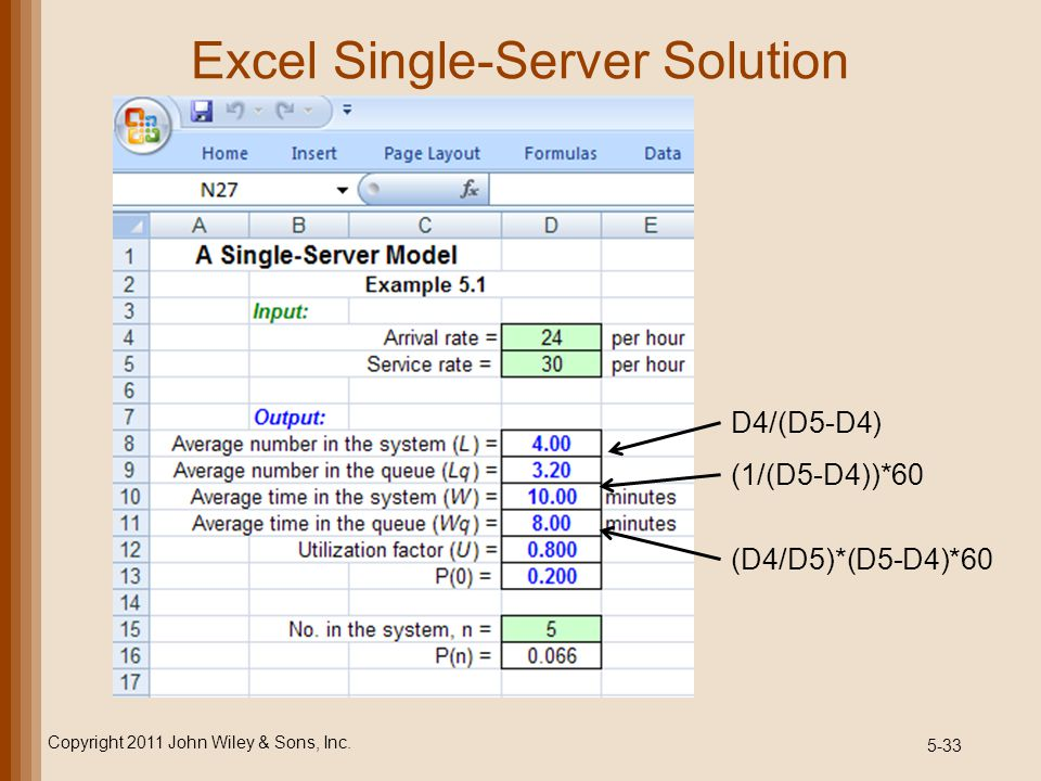 Excel Single-Server Solution