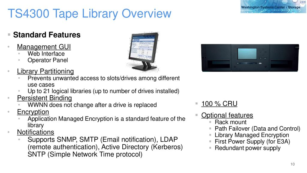 IBM TS4300 Tape Library Last update: May 31, ppt download
