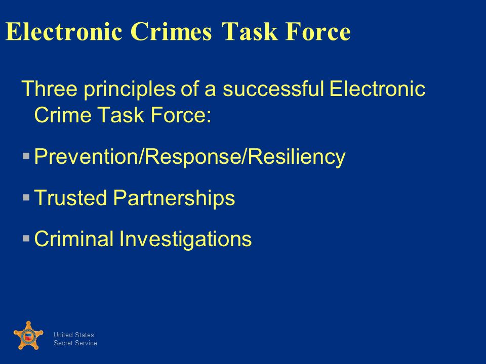 Electronic Crimes Task Force