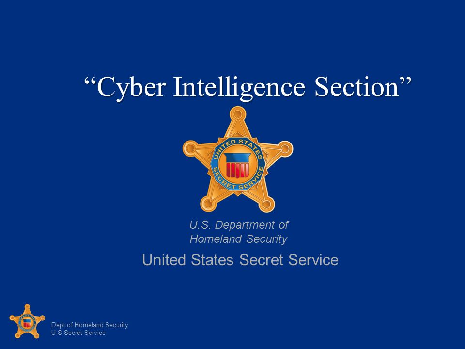 Cyber Intelligence Section