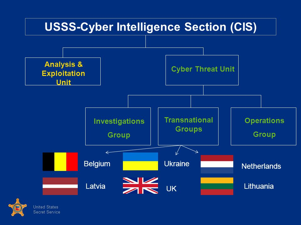 USSS-Cyber Intelligence Section (CIS)