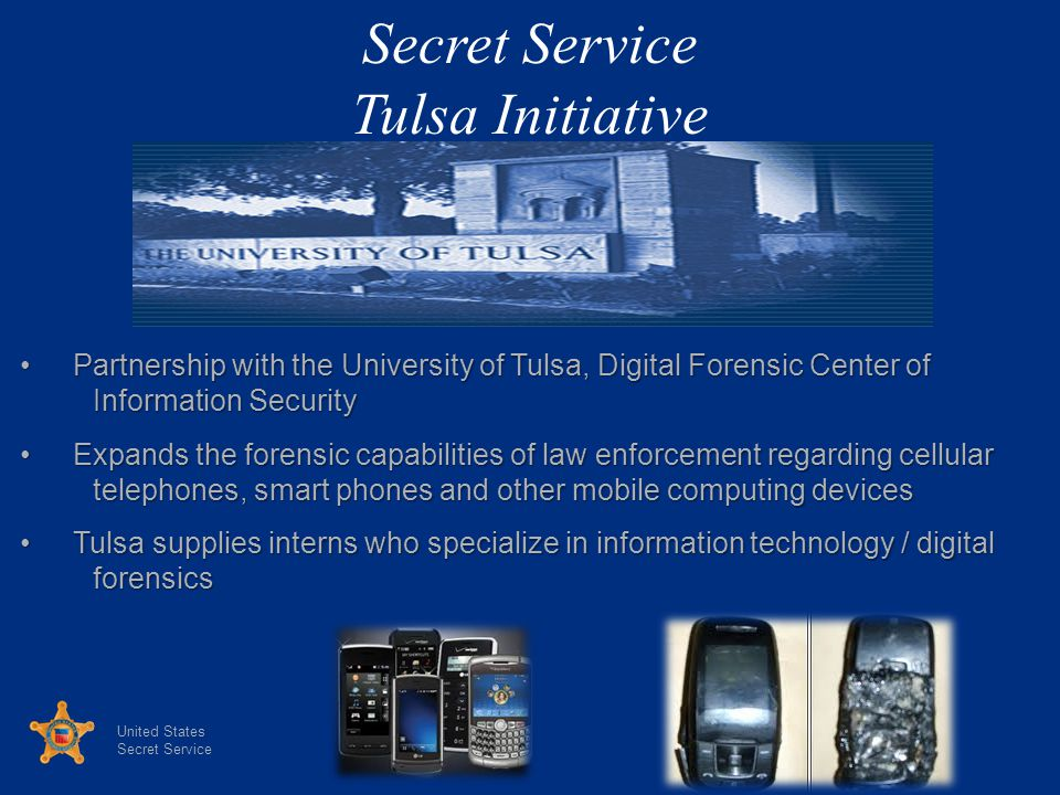 Secret Service Tulsa Initiative