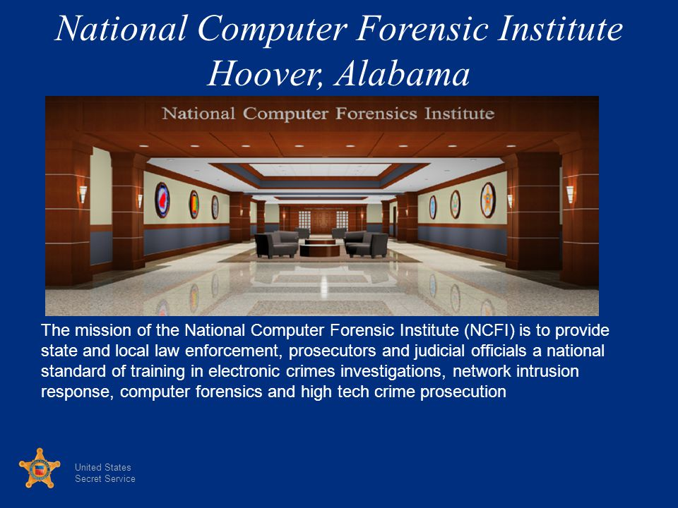 National Computer Forensic Institute