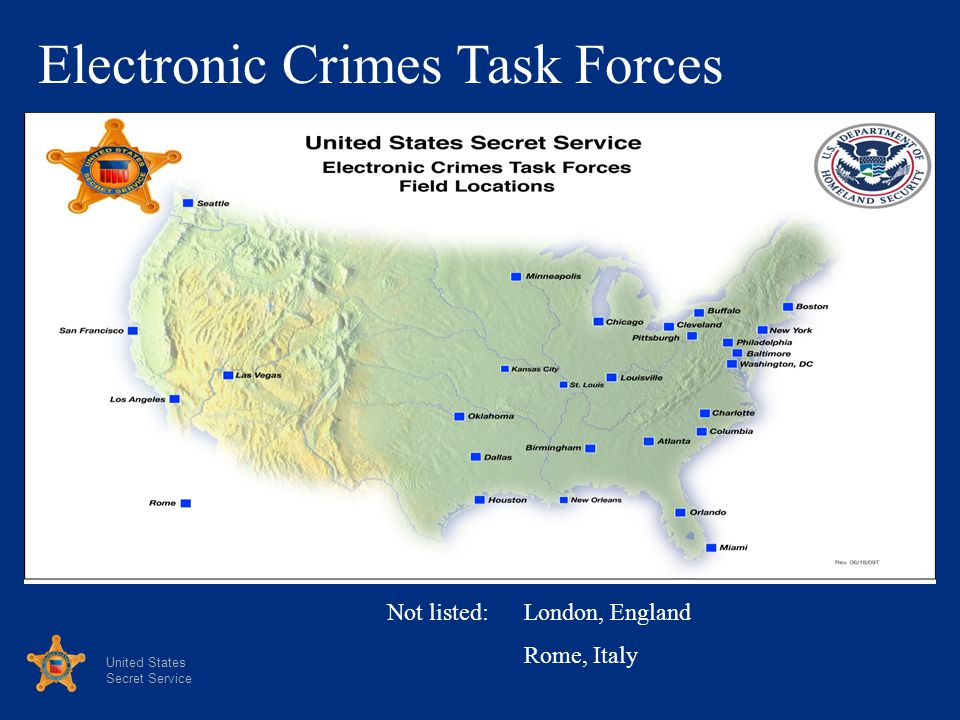 Electronic Crimes Task Forces