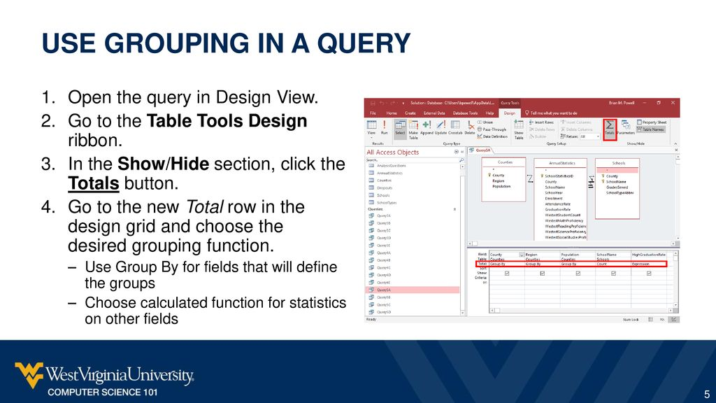 Access: Queries III Participation Project - ppt download