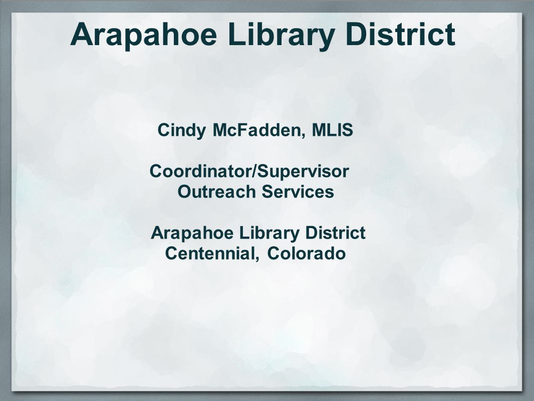 Arapahoe Library District