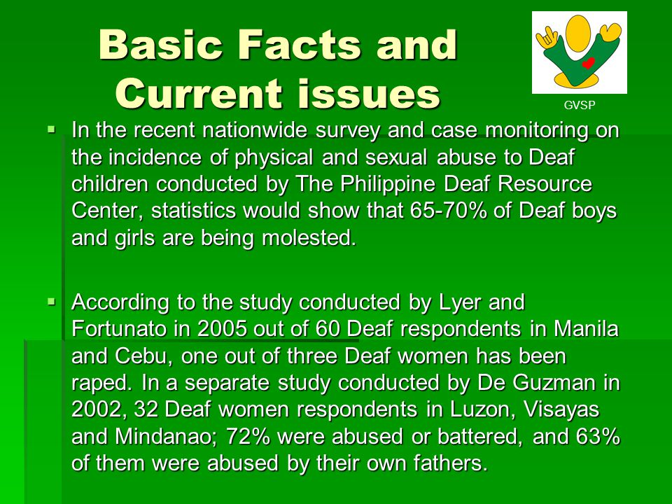 Basic Facts and Current issues