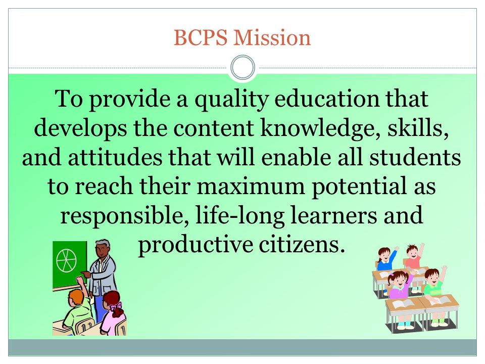 BCPS Mission