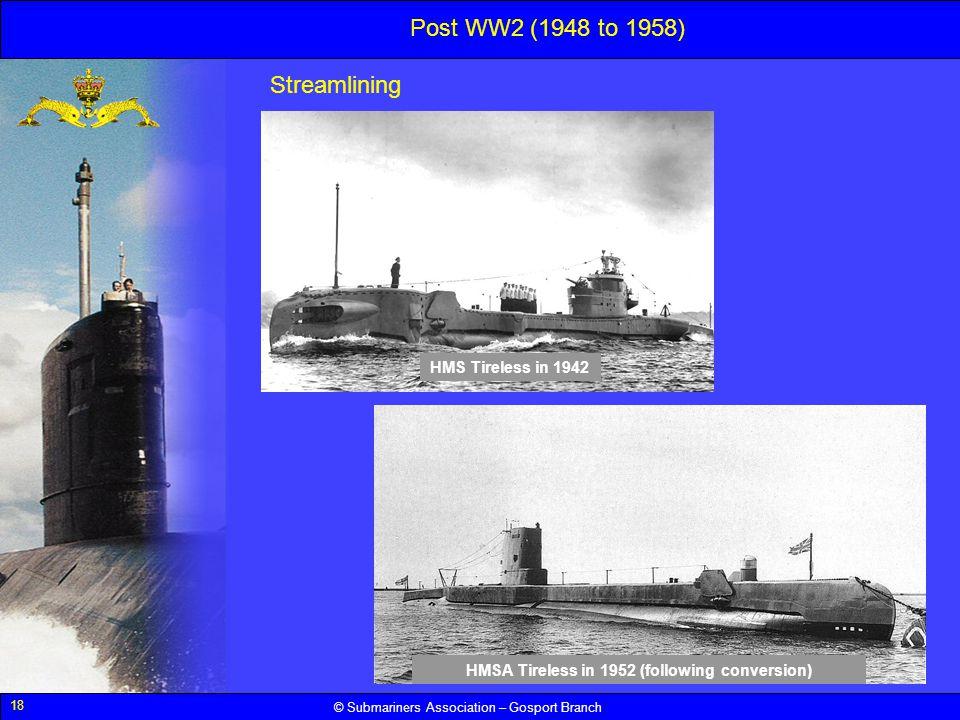 SUBMARINERS ASSOCIATION – GOSPORT BRANCH Royal Navy