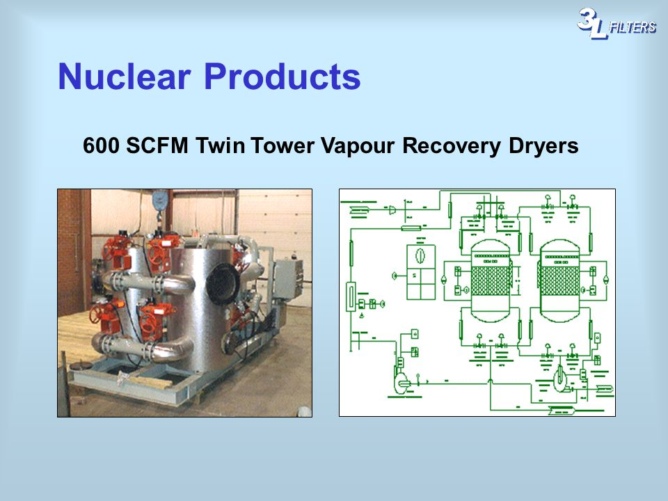 600 SCFM Twin Tower Vapour Recovery Dryers