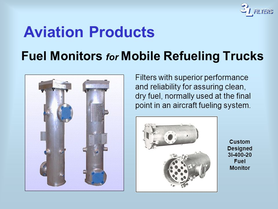 Aviation Products Fuel Monitors for Mobile Refueling Trucks
