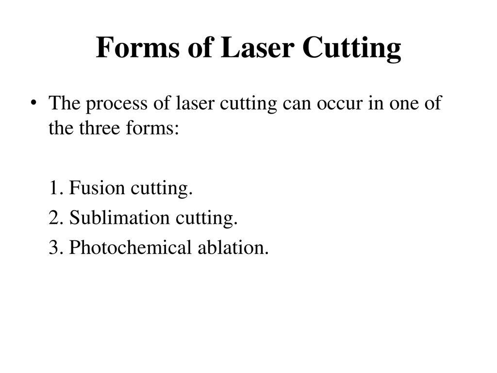 Laser Cutting Archish Bharadwaj V S - ppt download