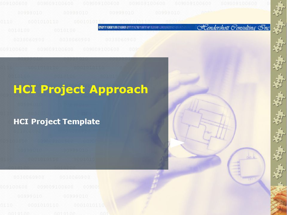 HCI Project Approach HCI Project Template