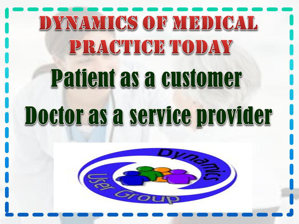 Doctor as a service provider