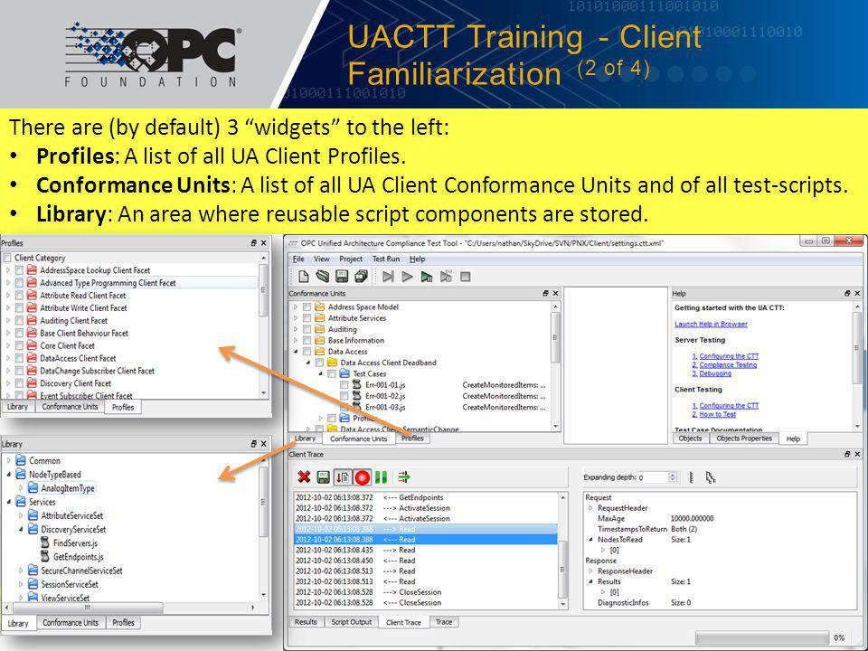 UACTT Training - Client Familiarization (2 of 4)