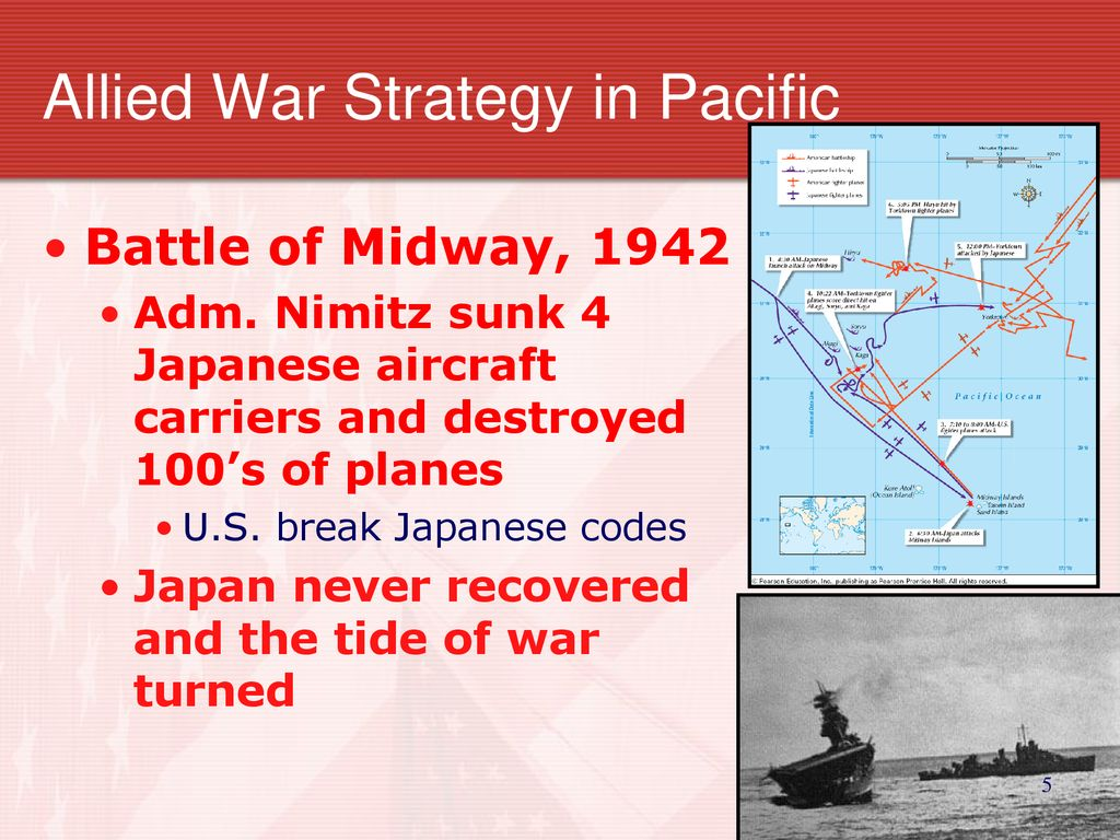 EQ 6:How did the Allies turn the tide against the Axis in