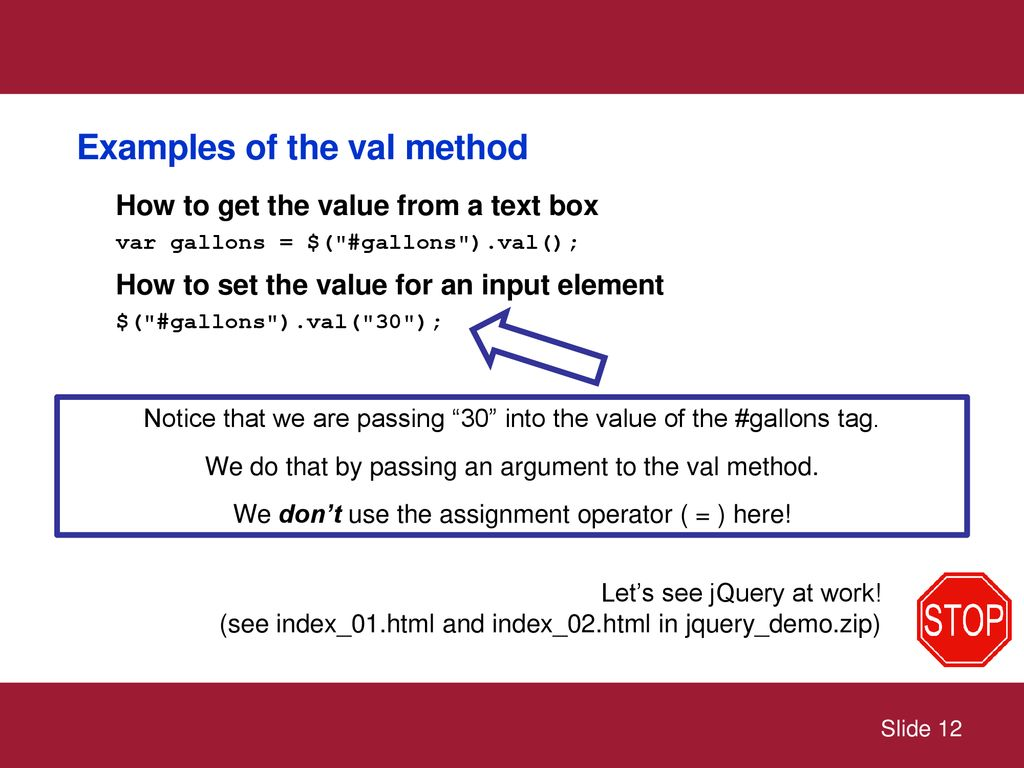Getting started with jQuery - ppt download