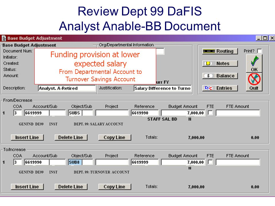 Review Dept 99 DaFIS Analyst Anable-BB Document