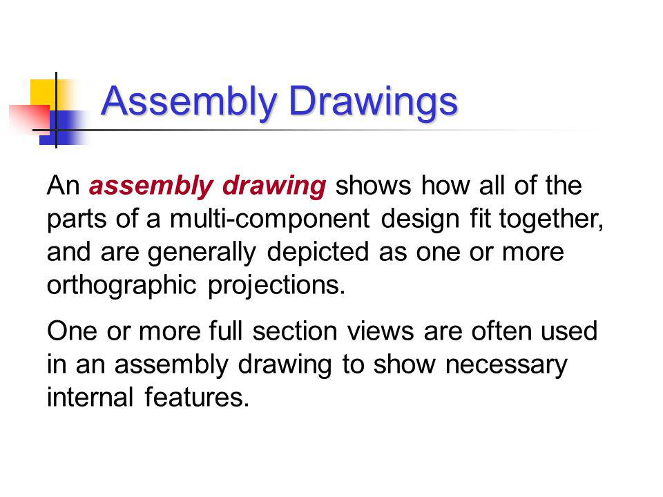 Assembly Drawings, Balloons, and Parts Lists