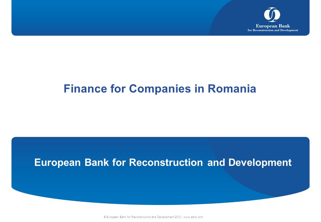 Finance for Companies in Romania