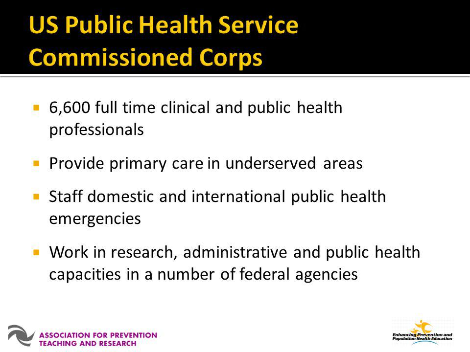 US Public Health Service Commissioned Corps