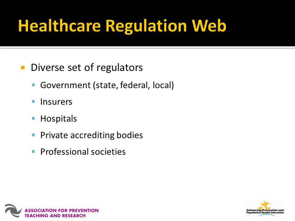 Healthcare Regulation Web