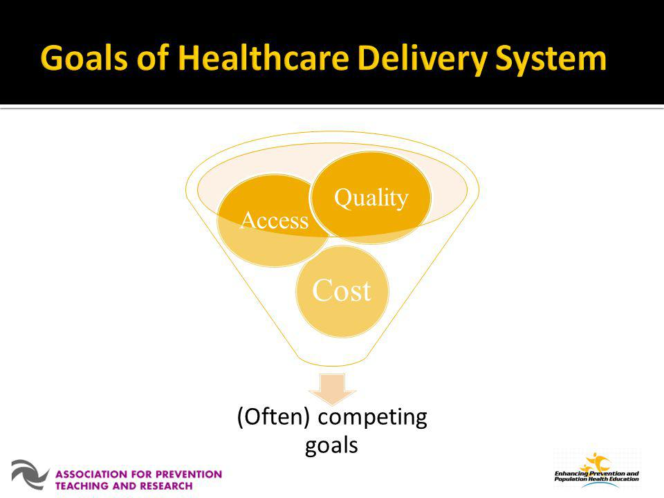 Goals of Healthcare Delivery System