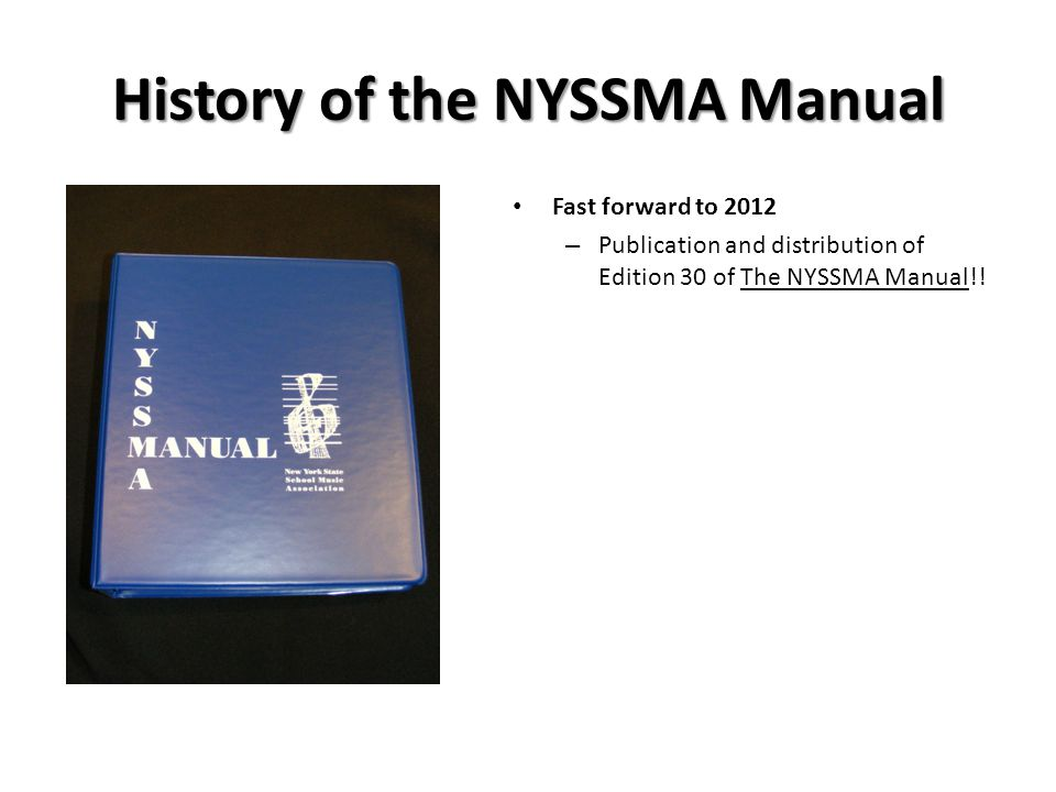 Everything you need to know about the nyssma manual and more.