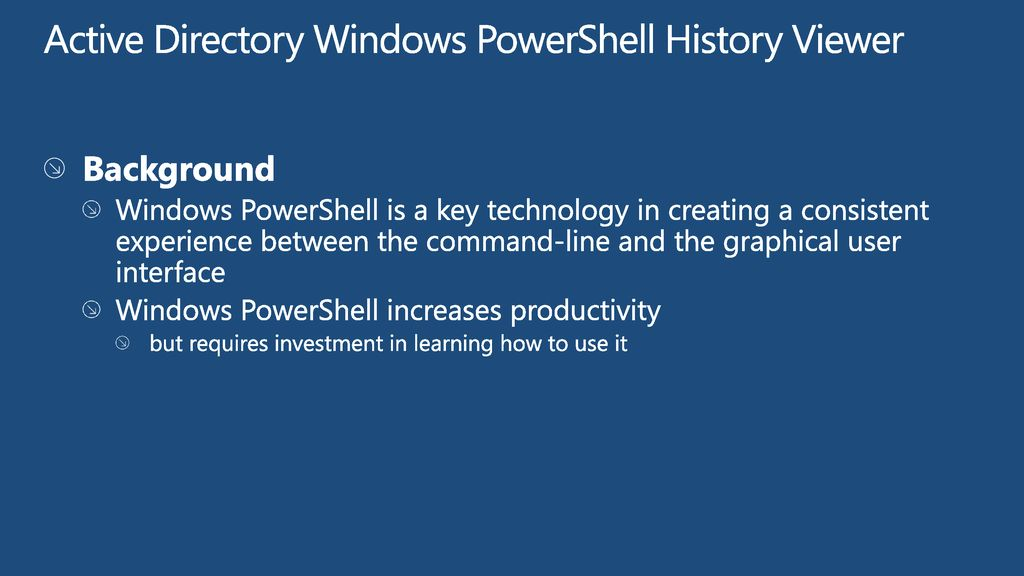 What's New in Active Directory in Windows Server ppt download