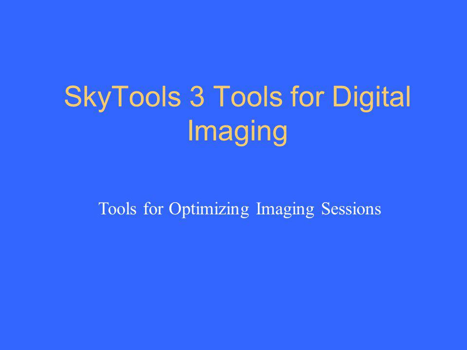 SkyTools 3 Tools for Digital Imaging