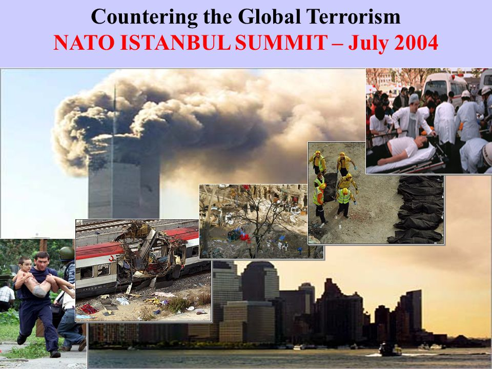 Countering the Global Terrorism NATO ISTANBUL SUMMIT – July 2004