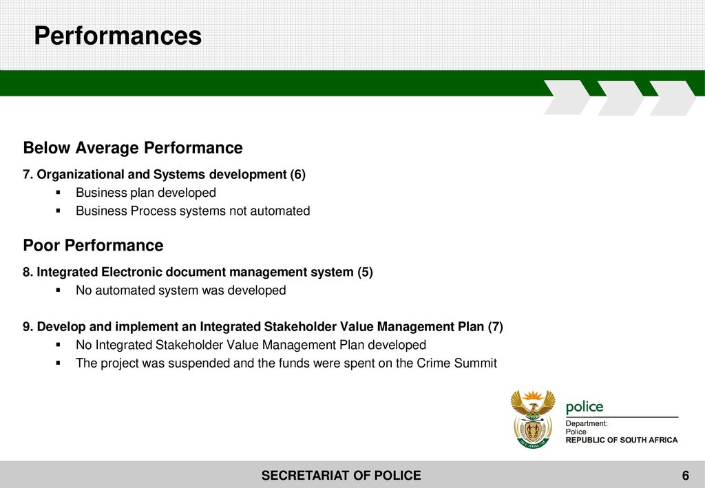 Presentation to the PORTFOLIO COMMITTEE OF POLICE - ppt download