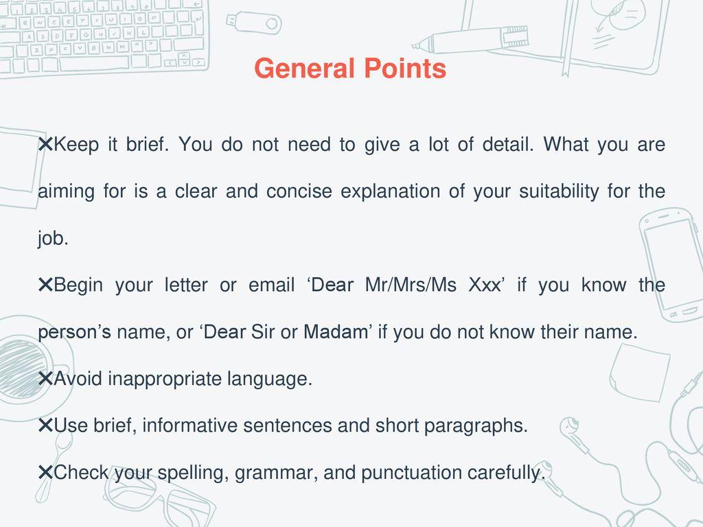 Dear Mr Mrs Cover Letter from slideplayer.com