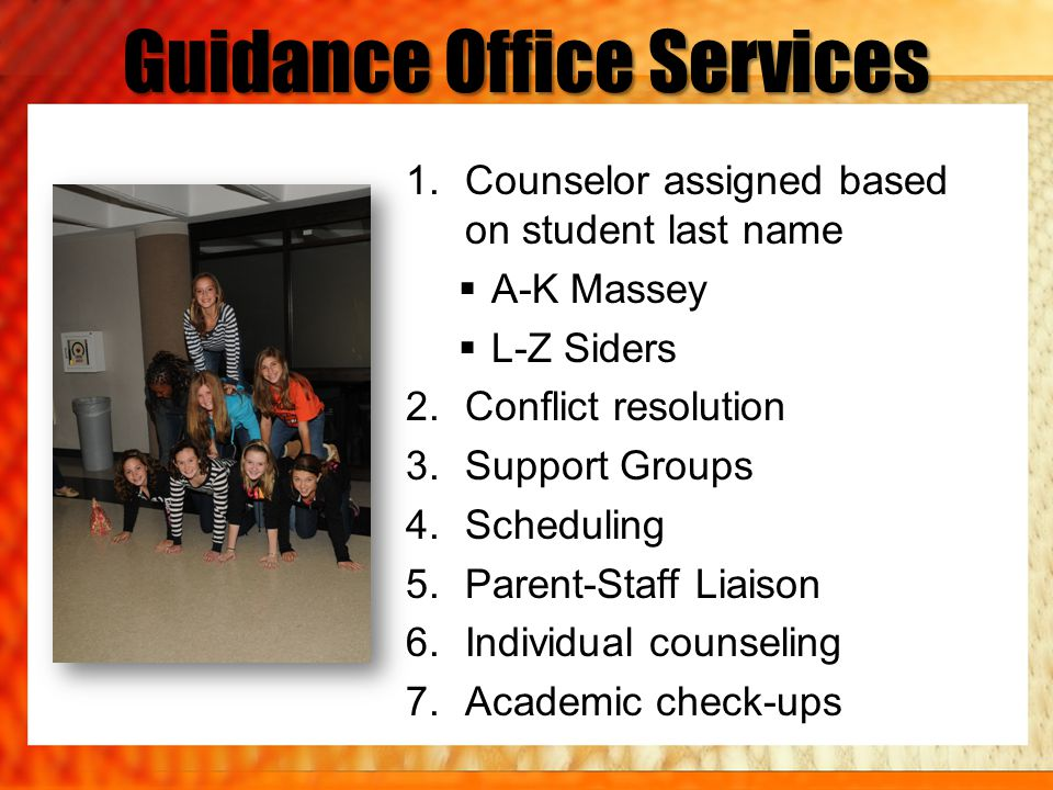Guidance Office Services