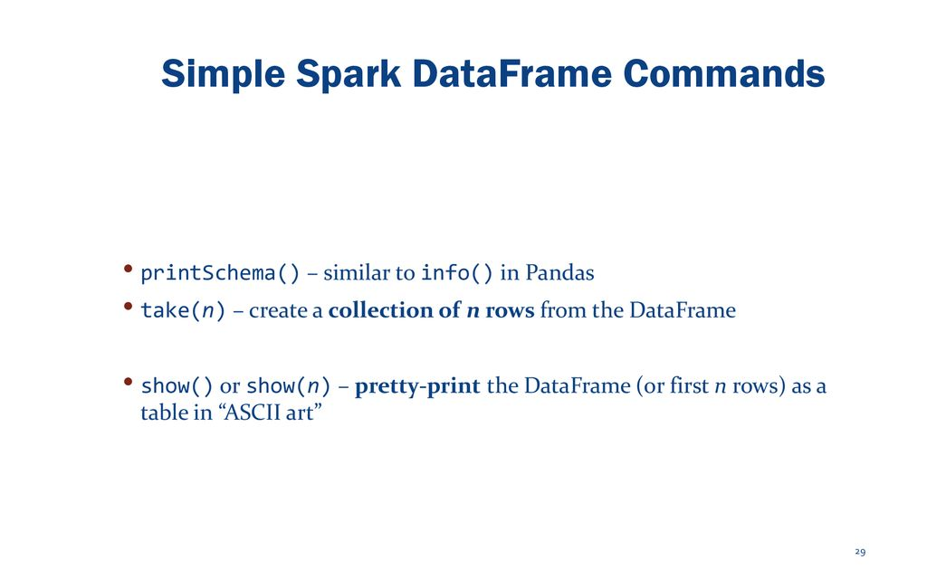 Introduction to Apache Spark CIS 5517 – Data-Intensive and Cloud
